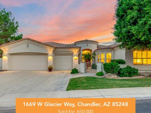 1669 W Glacier Way, Chandler, AZ 85248