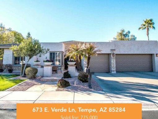 673 E. Verde Ln, Tempe, AZ 85284